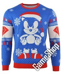 Sonic the Hedgehog Sonic Gem Xmas Pullover (XL) (Merchandise)