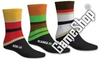 Street Fighter Socken (3 Paar, 39-46) (Merchandise)