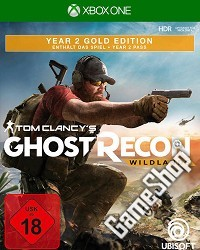 Tom Clancys Ghost Recon Wildlands Year 2 Gold Edition - Cover beschädigt (Xbox One)
