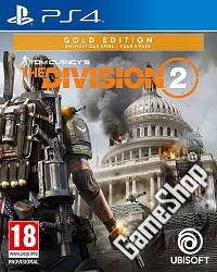 Tom Clancys The Division 2 Gold uncut (PS4)