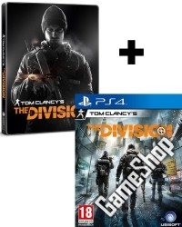 Tom Clancys The Division Steelbook Edition uncut (PS4)