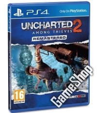 Uncharted 2: Among Thieves [Remastered EU uncut Edition]
