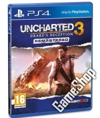 Uncharted 3: Drakes Deception [Remastered EU uncut Edition] (PS4)