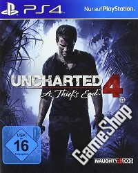 Uncharted 4: A Thiefs End (USK) - Erstauflage (PS4)