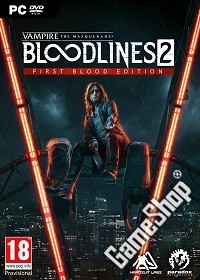 Vampire: The Masquerade Bloodlines 2 First Blood Edition uncut inkl. Preorder DLC (PC)