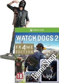 Watch Dogs 2 Limited WRENCH FR4ME Edition AT uncut inkl. Figur (24 cm) (Xbox One)
