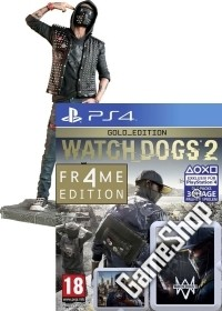 Watch Dogs 2 Limited WRENCH FR4ME Gold Edition AT uncut inkl. Figur (24 cm) + Bonusmission