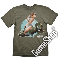 Wolfenstein Pin-Up T-Shirt (M) (Merchandise)