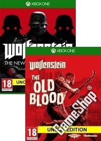 Wolfenstein komplettes uncut Pack: The New Order + Old Blood EU uncut + Nazi Zombie Mode