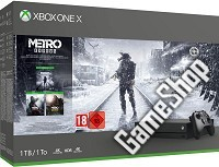 Xbox One X 1TB Konsole Metro: Exodus Bundle (Xbox One)