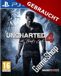 Uncharted 4: A Thiefs End Import uncut (PS4)