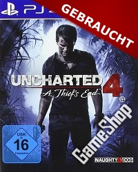 Uncharted 4: A Thiefs End (USK) (Erstauflage) (PS4)