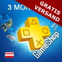 PlayStation Plus AT Live Card (3 Monate)