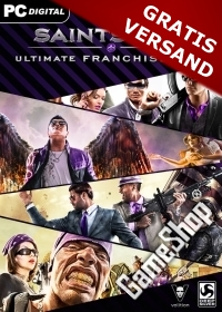 Saints Row Ultimate Franchise Pack + Gat out of Hell uncut