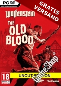 Wolfenstein: The Old Blood EU uncut + Nazi Zombie Mode (PC Download)
