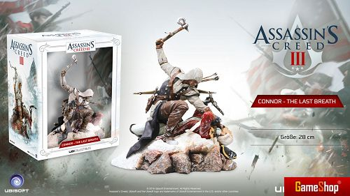 Assassins Creed Connor - The Last Breath Figur Merchandise