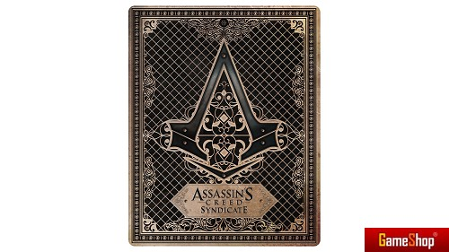 Assassins Creed Syndicate Steelbook Merchandise