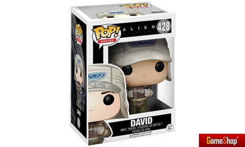 David Alien Covenant POP! Vinyl Figur Merchandise