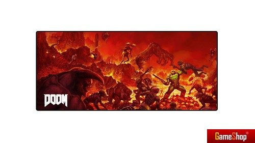 Doom Oversize Retro Mousepad PC