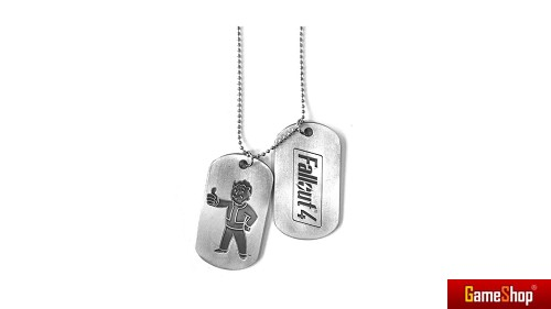 Fallout 4 Dog Tag Merchandise
