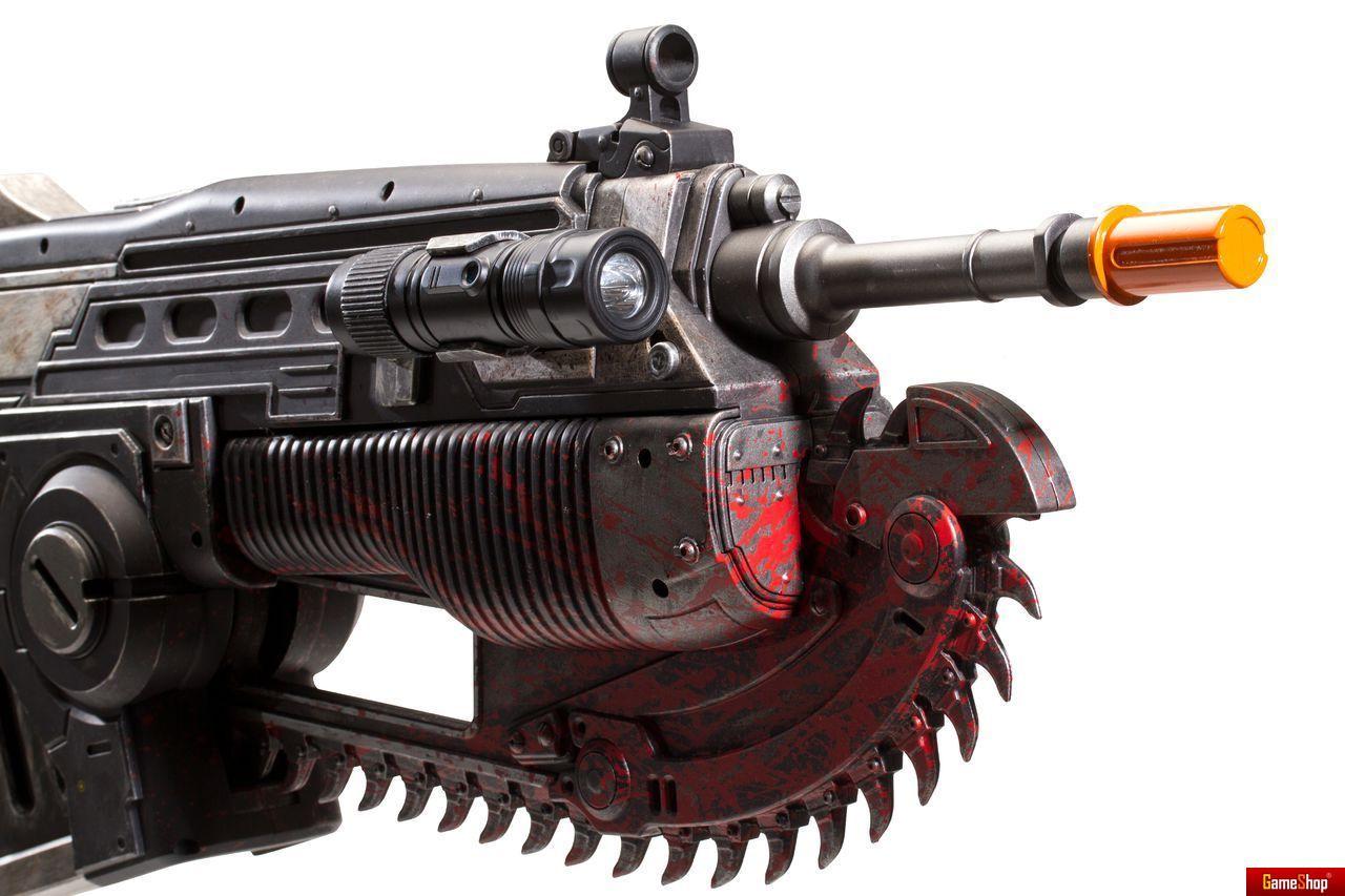 Gears of war 4 marcus lancer replica limited edition for Leuchten replica