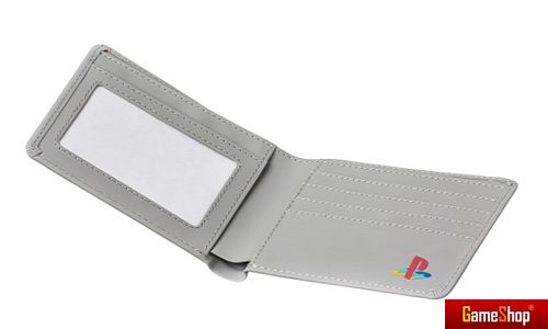 PlayStation Konsole grau - Brieftasche Merchandise