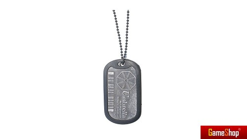 Resident Evil Umbrella Corporation Dog Tag Merchandise