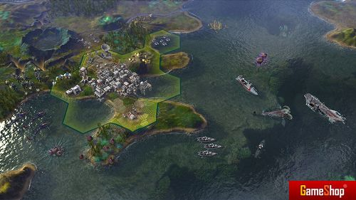 Sid Meiers Civilization Beyond Earth: Rising Tide PC