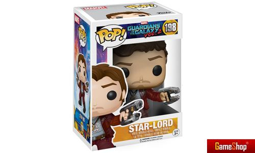 Star-Lord Guardians of the Galaxy 2 POP! Vinyl Figur Merchandise