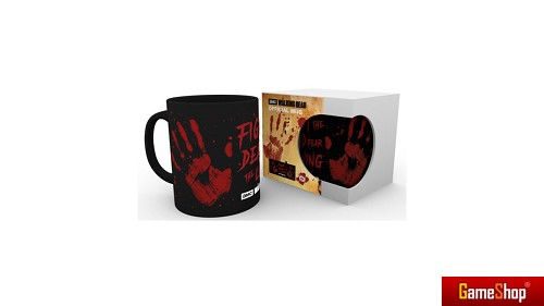The Walking Dead Bloody Hand Geschenkbox Merchandise
