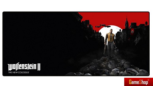 Wolfenstein II Trail of the Dead Oversize Mousepad PC