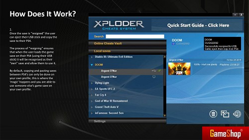 Xploder PS4 PC Download